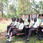 The Water Project: St. Gerald Mayuge Secondary School -  Facilitator Betty Leads The Day