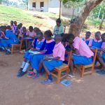 The Water Project: Kapsaoi Primary School -  Pupils In Group Discussions At Training