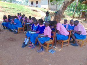 The Water Project:  Pupils In Group Discussions At Training