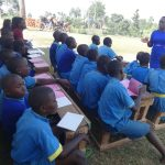 The Water Project: St. Michael Mukongolo Primary School -  Mary Afandi Conducting The Training