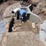 The Water Project: Shikangania Community, Abungana Spring -  Stair Construction