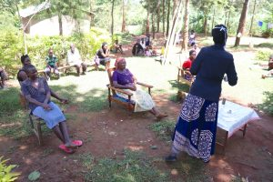 The Water Project:  Keen Community Members Listening In