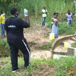 The Water Project: Emukoyani Community, Ombalasi Spring -  Team Leader Emmah Training