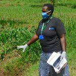 The Water Project: Sichinji Community, Kubai Spring -  Emmah Emphasizing A Point