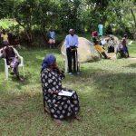 The Water Project: Irungu Community, Irungu Spring -  A Village Elder Speaks At The Trainings