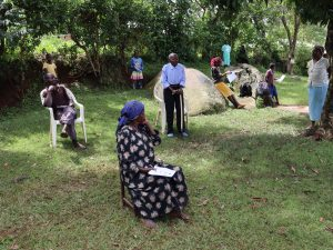 The Water Project:  A Village Elder Speaks At The Trainings