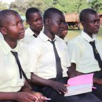 The Water Project: St. Gerald Mayuge Secondary School -  Girls Following The Training