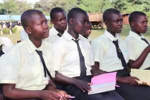 The Water Project:  Girls Following The Training