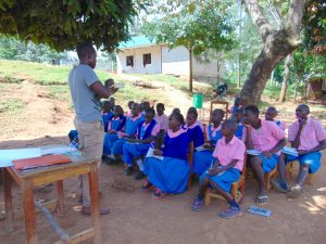 The Water Project:  Trainer Samuel Explains Solar Disinfection