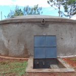 The Water Project: Gamalenga Primary School -  Completed Rain Tank