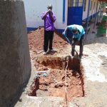 The Water Project: Jinjini Friends Primary School -  Drawing Point Construction