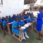 The Water Project: St. Michael Mukongolo Primary School -  Mary Trains On Dental Hygiene