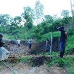 The Water Project: Shikangania Community, Abungana Spring -  Leveling The Area