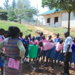 The Water Project: Kapsaoi Primary School -  Pupils Try Out The Handwashing Station
