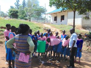 The Water Project:  Pupils Try Out The Handwashing Station