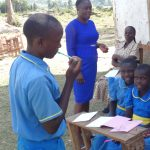 The Water Project: St. Michael Mukongolo Primary School -  Dental Hygiene Session