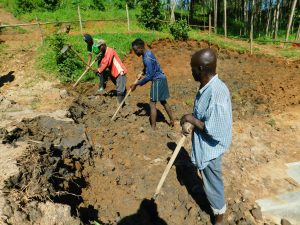 The Water Project:  Leveling The Soil