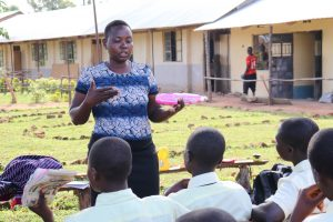 The Water Project:  Menstrual Hygiene Management Training