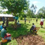 The Water Project: Ataku Community, Ngache Spring -  Training Includes Social Distancing