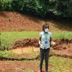 The Water Project: Shikhombero Community, Atondola Spring -  Trainer Betty At Atondola Spring