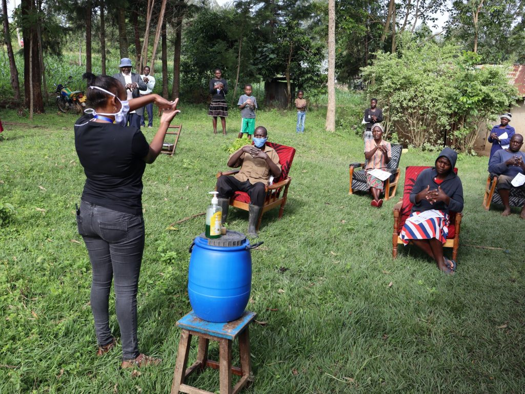 The Water Project : 3-kenya18129-covid19-handwashing-demonstration-3