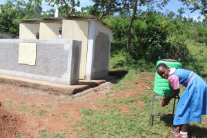 The Water Project:  Handwashing After Visiting Toilet