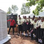 The Water Project: St. Gerald Mayuge Secondary School -  Maintainance Training At Tank Still Underway