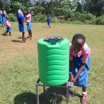 The Water Project: Kapsaoi Primary School -  Handwashing