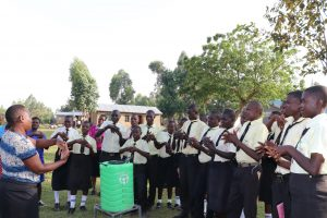 The Water Project:  Handwashing Practical
