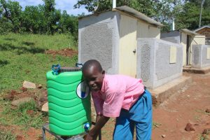 The Water Project:  Pupil Handwashing After Visiting Toilet
