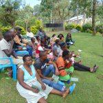 The Water Project: Shikangania Community, Abungana Spring -  Training Begins With Facilitator Victor Musemi