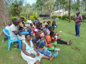 The Water Project:  Training Begins With Facilitator Victor Musemi