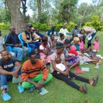 The Water Project: Shikangania Community, Abungana Spring -  Training Participants