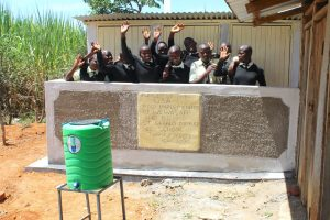 The Water Project:  Girls Celebrate New Vip Latrines