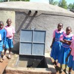 The Water Project: Kapsaoi Primary School -  Pupils Posing At Water Point