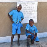 The Water Project: St. Michael Mukongolo Primary School -  Happy To Be Here With New Latrines