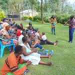 The Water Project: Shikangania Community, Abungana Spring -  Teaching The Ten Handwashing Steps