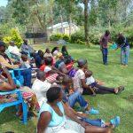 The Water Project: Shikangania Community, Abungana Spring -  Handwashing Session