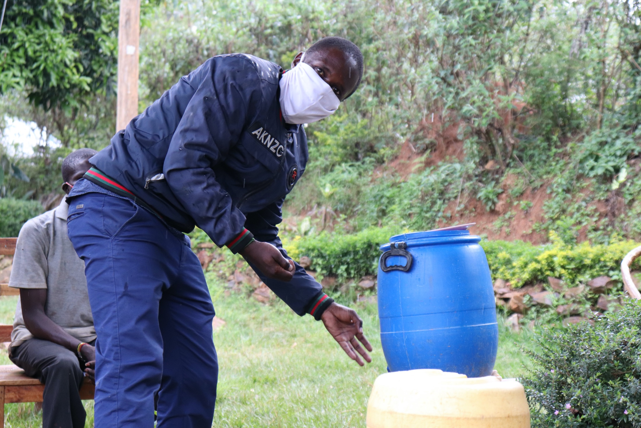 The Water Project : 4-covid19-kenya18086-ensure-that-you-clean-the-tap-too