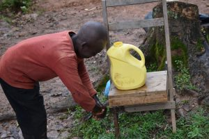 The Water Project:  He Did The Handwshing So Well