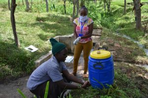 The Water Project:  Handwashing Station In The Community