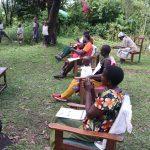 The Water Project: Emachembe Community, Hosea Spring -  Handwashing Session