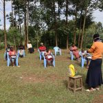 The Water Project: Ematetie Community, Weku Spring -  Handwashing Exercise