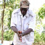 The Water Project: Asimuli Community, John Omusembi Spring -  Handwashing Demonstration