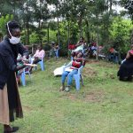 The Water Project: Elukuto Community, Isa Spring -  Handwashing Demonstration