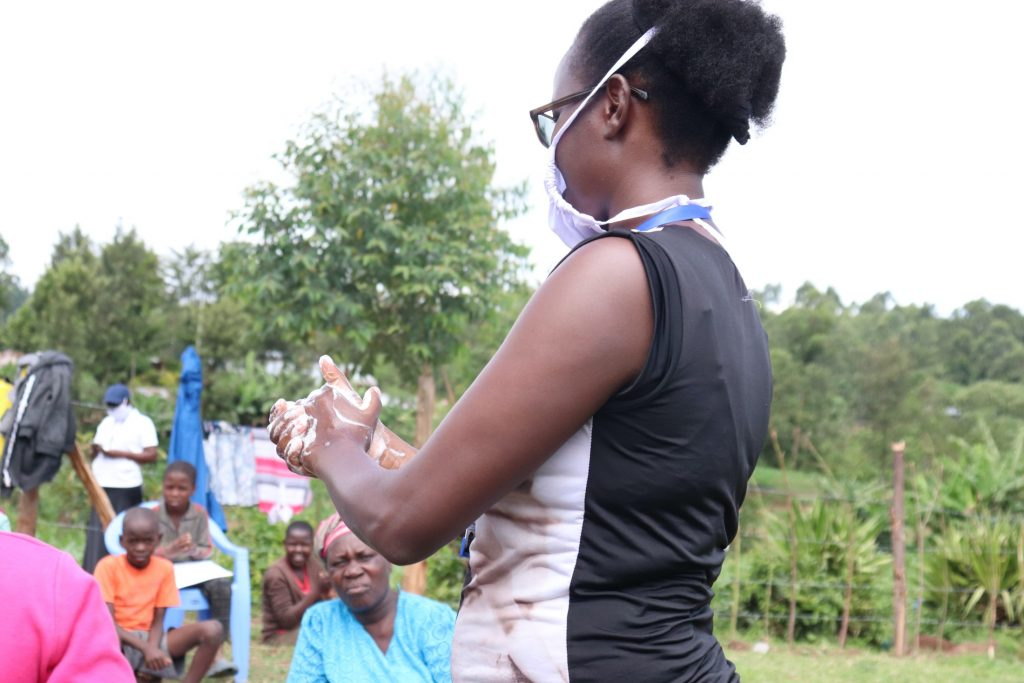 The Water Project : 4-covid19-kenya18167-regular-handwashing-with-soap-and-water-highlighted