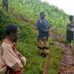 The Water Project: Busichula Community, Marko Spring -  Social Distancing During Training