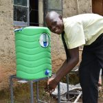 The Water Project: St. Gerald Mayuge Secondary School -  Handwashing
