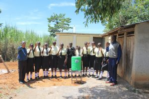 The Water Project:  Students And Teachers Celebrate Sanitation Facilities