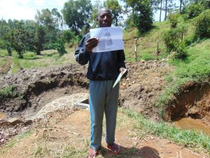 The Water Project:  Participant Holds Training Diagram